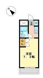 フィレンツェ名駅[3階]の間取り