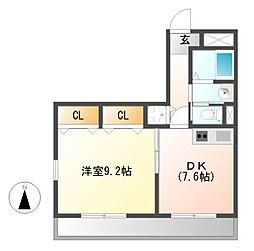 ハイエスト・TK1[4階]の間取り