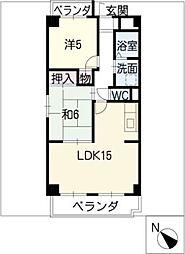 Avenue85−II[2階]の間取り