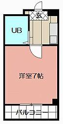 一木ビル[206号室]の間取り