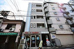 大阪府大阪市阿倍野区阪南町4丁目の賃貸マンションの外観