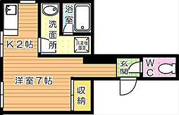 日東興産ビル[4階]の間取り