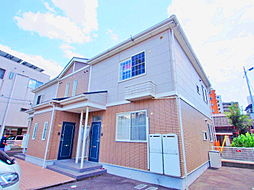 広島県広島市安佐南区西原3丁目の賃貸アパートの外観