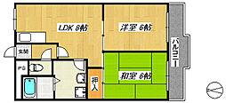 ラフォーレ諏訪ノ森[3階]の間取り