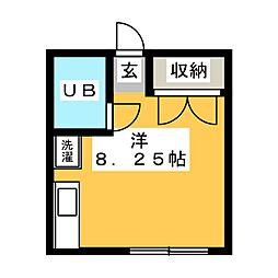 コーポアオキ[2階]の間取り
