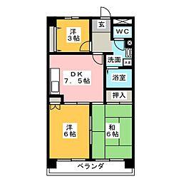 Five・わかくさ[3階]の間取り