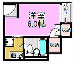 NKシャトー[2階]の間取り