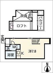Ambra[1階]の間取り