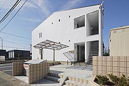 埼玉県桶川市大字坂田の賃貸アパートの外観