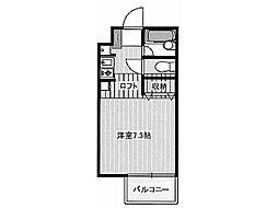 トリムアパートメント[1階]の間取り