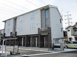京都府城陽市枇杷庄京縄手の賃貸アパートの外観