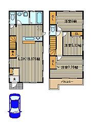 [一戸建] 東京都西東京市中町4 の賃貸【東京都 / 西東京市】の間取り