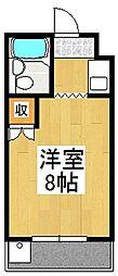 メゾンドハニー[3A号室]の間取り