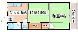 吉川マンション[205号室]の間取り