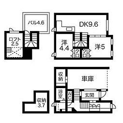 [タウンハウス] 北海道札幌市中央区南十七条西12丁目 の賃貸【北海道 / 札幌市中央区】の間取り