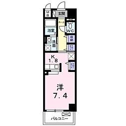DAIICHI ビル[3階]の間取り