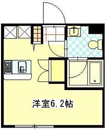 chouchou阿佐ヶ谷A棟[105号室]の間取り