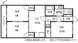 福岡県福岡市南区高宮2丁目の賃貸マンションの間取り