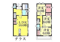 [一戸建] 兵庫県神戸市東灘区御影石町2丁目 の賃貸【/】の間取り