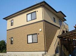 福岡県遠賀郡岡垣町桜台の賃貸アパートの外観