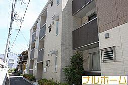 大阪府大阪市平野区瓜破2丁目の賃貸アパートの外観