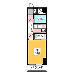 大嶽弥富マンション[2階]の間取り