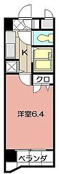 ライオンズマンション小倉駅南第2 203[203号室]の間取り