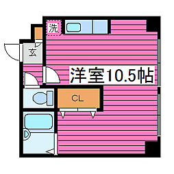 北海道札幌市東区北三十八条東16丁目の賃貸マンションの間取り