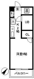 豊田ガーデンハイツ[109号室]の間取り