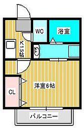 仮)栄町共同住宅[1階]の間取り