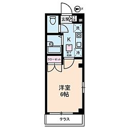 プレミアムバリュー板橋徳丸[1階]の間取り