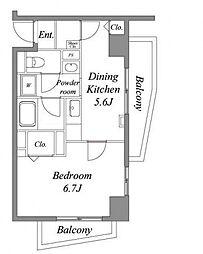 ハイグレード椿[1階]の間取り