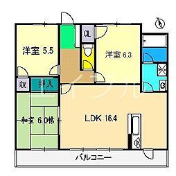 アストーレ青柳[2階]の間取り