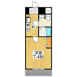 おおきに出町柳サニーアパートメント(旧 S-CREA出町柳)[103号室]の間取り