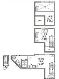 [テラスハウス] 東京都文京区本郷5丁目 の賃貸【/】の間取り