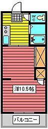 セイコーマンション[2階]の間取り