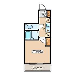 埼玉県草加市住吉1の賃貸マンションの間取り