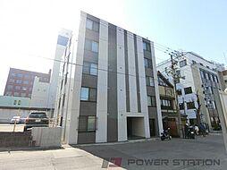 北海道小樽市稲穂2丁目の賃貸マンションの外観