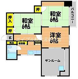 渡辺ビル[4階]の間取り