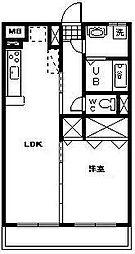 ララモア[702号室]の間取り