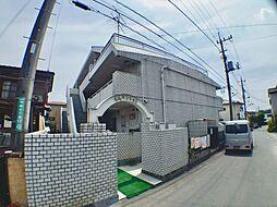 新成マンション[1階]の外観