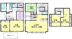 [一戸建] 東京都練馬区大泉町2丁目 の賃貸【/】の間取り