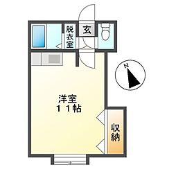 M45[2階]の間取り