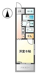 MKタウン安永[3階]の間取り