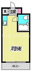 東京都杉並区高円寺南5の賃貸マンションの間取り