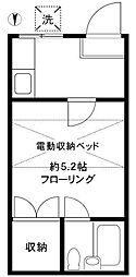 プレステージ板橋本町第5[2階]の間取り