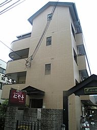京都府京田辺市田辺中央5丁目の賃貸マンションの外観