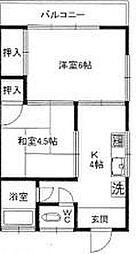 渋谷ハイツ[2階]の間取り