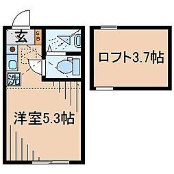 Huvafen Fushi 鶴見[104号室]の間取り