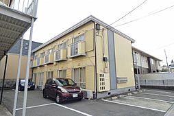 岡山県岡山市北区東古松南町の賃貸アパートの外観
